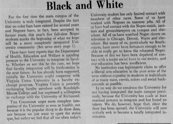 "Article ""Black and White"""