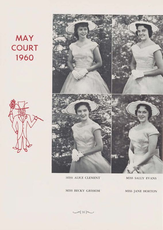 """The Web 1960 """"May Court 1960"""""""
