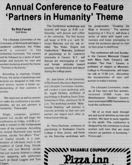 """Article """"Annual Conference to Feature 'Partners in Humanity' Theme"""""""