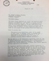 Letter from Glenn T. Seaborg to George M. Modlin